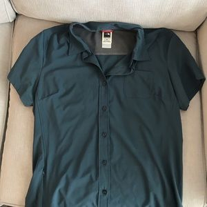 The North Face outdoor collared shirt